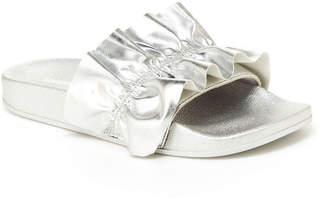 UNIONBAY Miraculous Ruffle Womens Flat Sandals