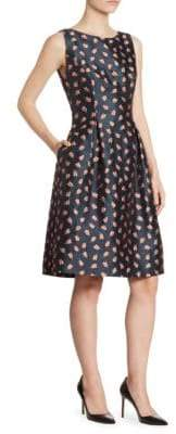 Lela Rose Betsy Fit & Flare Dress