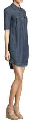 Trina Turk Rosetta Denim Shift Dress
