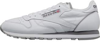 20379f2ba207c1 Reebok Classics Mens Leather MU Trainers White Carbon Red Grey