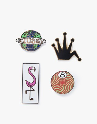 Stüssy Pin Set $60 thestylecure.com
