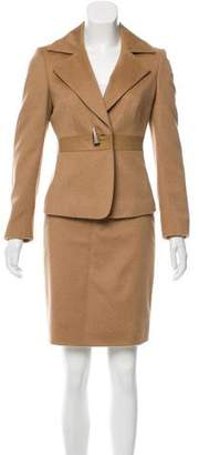 Max Mara Camel Skirt Suit