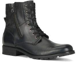 Andrew Marc Vesey Fleece-Lined Leather Hiking Boots