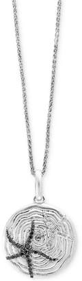 Effy Balissima by Diamond Starfish Pendant Necklace (5/8 ct. t.w.) in Sterling Silver