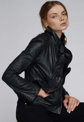 Marissa Webb Davina Leather Jacket