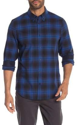 Calvin Klein Plaid Long Sleeve Regular Fit Shirt