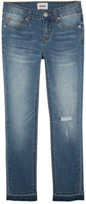 Hudson Girls' Christa Super Stretch Release-Hem Skinny Jeans, Size 4-6X