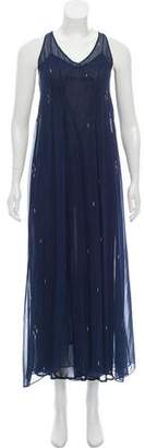 Etoile Isabel Marant Sleeveless Printed Maxi Dress