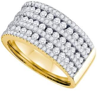 DazzlingRock Collection 1 1/2 Carat DIAMOND LADIES FASHION BAND