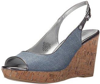 Bandolino Women's AVITO Wedge Sandal $27.99 thestylecure.com