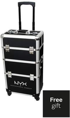 NYX Artist Train Case - 4 Tier