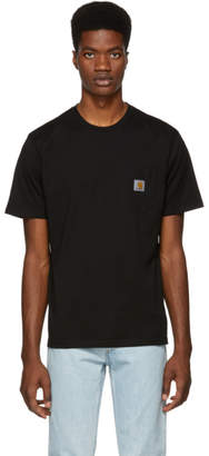 Carhartt Work In Progress Black Pocket T-Shirt