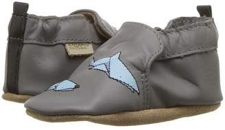 Robeez Shark-tastic Soft Sole Boy's Shoes