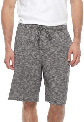 Croft & Barrow Big & Tall Slubbed Knit Jams Shorts