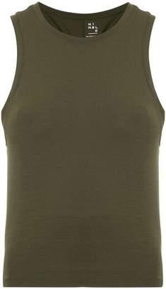 Nimble Activewear Tie Up Gather tank top