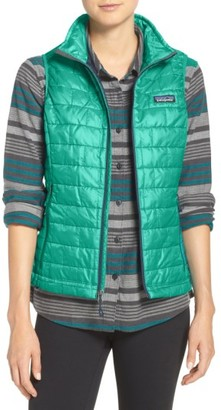 Women's Patagonia 'Nano Puff' Insulated Vest $149 thestylecure.com