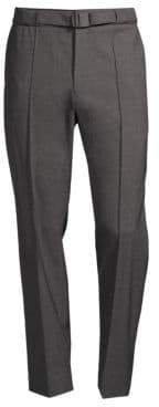 Solid Homme Oversized Stretch Wool Pants