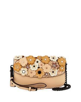 Coach 1941 Tea Rose Leather Clutch Bag