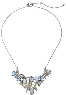 Alexis BittarAlexis Bittar Crystal Encrusted Mosaic Lace Pendant Necklace