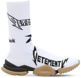 Vetements Reebok Metal Jacquard Socks Sneakers