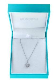 Effy Super Buy 14K White Gold and Diamonds Round Pendant Necklace