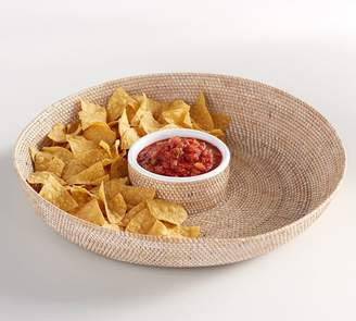 Pottery Barn Tava Chip & Dip - Natural