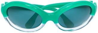 Marni Eyewear oval frame sunglasses