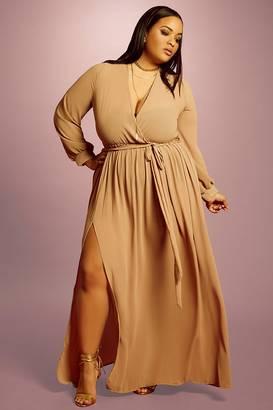 FOREVER 21+ Plus Size Maxi Dress $35 thestylecure.com