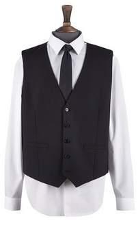 Mens Big & Tall Essential Stretch Tailored Fit Waistcoat