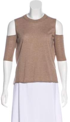 Mason by Michelle Mason Backless Cold-Shoulder Sweater w/ Tags