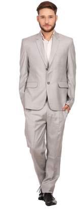 Blend of America Wintage Men's Linen Wool Two Button Notch Lapel 2-Piece Suit, 4X-Large