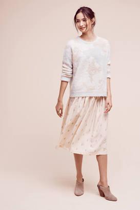 Christine Alcalay Cacti Midi Skirt $198 thestylecure.com