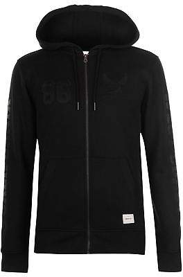 Soul Cal SoulCal Mens Deluxe West Coast Sweater Zip Hoodie Jumper Pullover Hoody Hooded