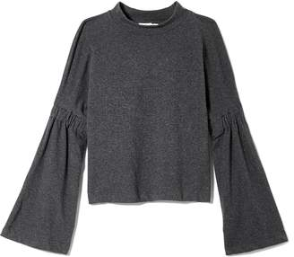Vince Camuto French Terry Bell-sleeve Top