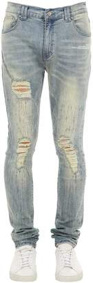 Birdshot Ripped Denim Jeans