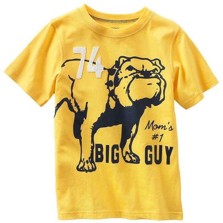 Carter's bulldog tee - boys 4-7