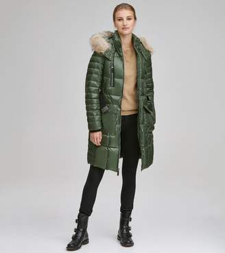 Andrew Marc ADRIANNE LONG DOWN PUFFER