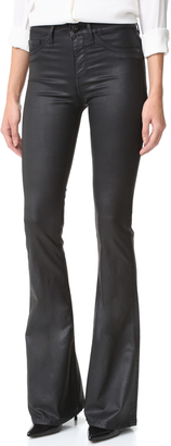 DL1961 Heather High Rise Flare Jeans $198 thestylecure.com
