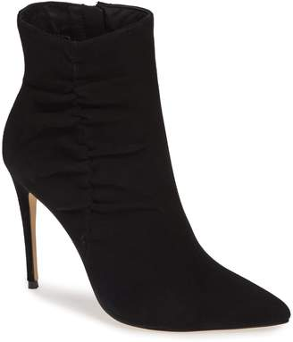 Something Navy Arianna Ruched Bootie