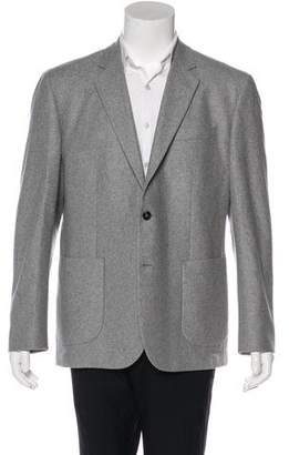 Hardy Amies Deconstructed Cashmere Blazer