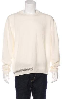 Haider Ackermann Wool Crew Neck Sweater