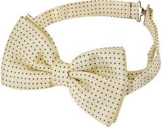Forzieri Small Polkadot Pre-Tied Silk Bowtie
