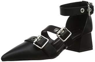 Office Women's Meghan Ankle Strap Heels (Black 00000), 37 EU