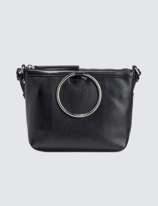 Kara Pebble Leather Ring Crossbody