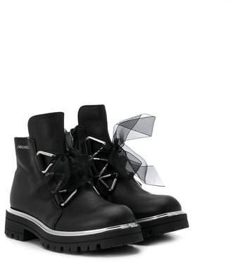 Simonetta TEEN lace-up boots
