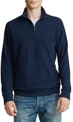 Polo Ralph Lauren Double-Knit Half-Zip Pullover