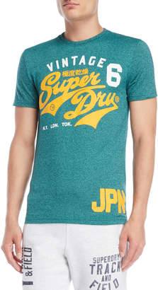 Superdry Green Reworked Graphic Tee