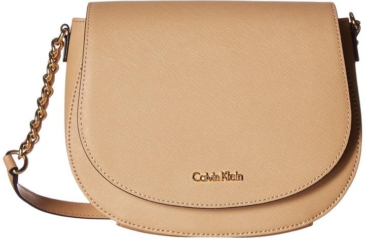 Calvin KleinCalvin Klein Key Items Saffiano Saddle Bag