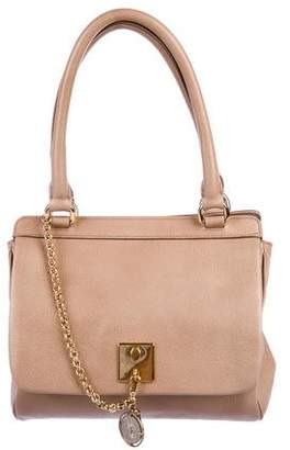 Dolce & Gabbana Grained Leather Flap Tote