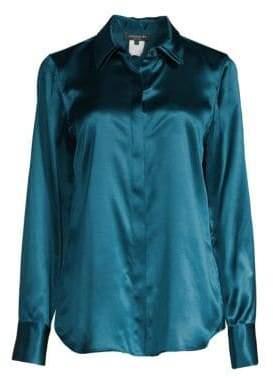 Lafayette 148 New York Semira Silk Blouse
